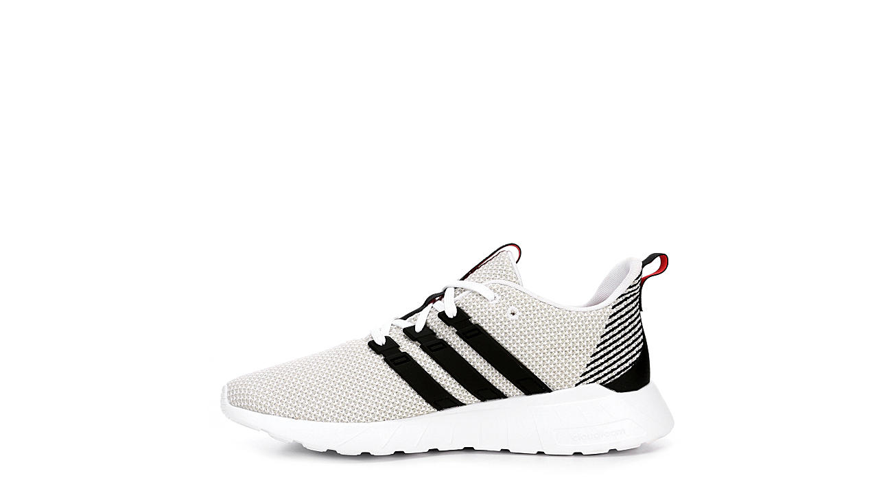 ADIDAS Mens Questar Flow Sneaker - WHITE