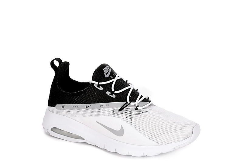 7e35275663 White Nike Mens Air Max Motion Racer 2 | Athletic | Rack Room Shoes