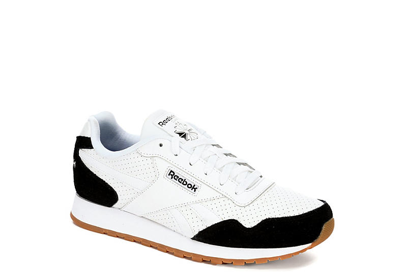 40a4f9a3fc08f White Reebok Classic Harman Run Men s Sneakers
