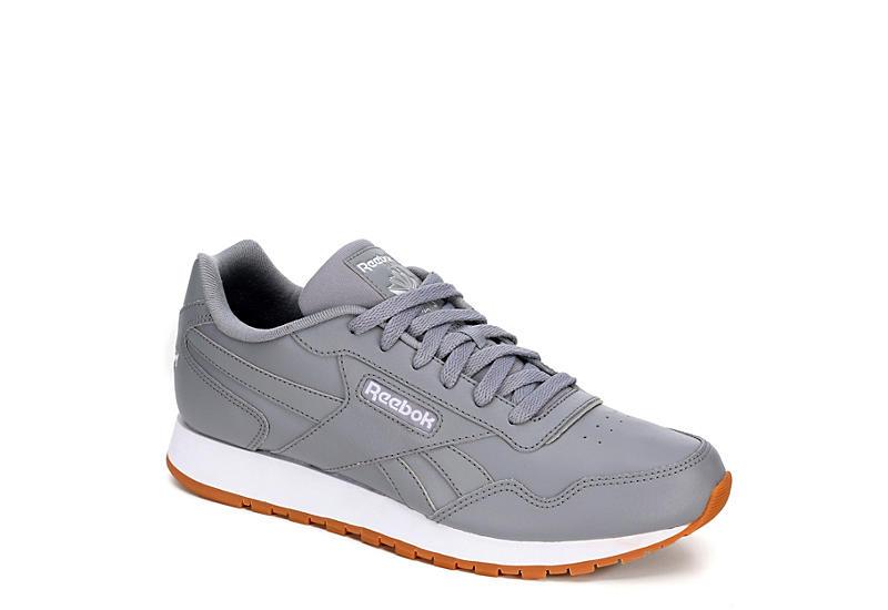 368449ebdd7 Grey Reebok Classic Harman Run Men s Sneakers