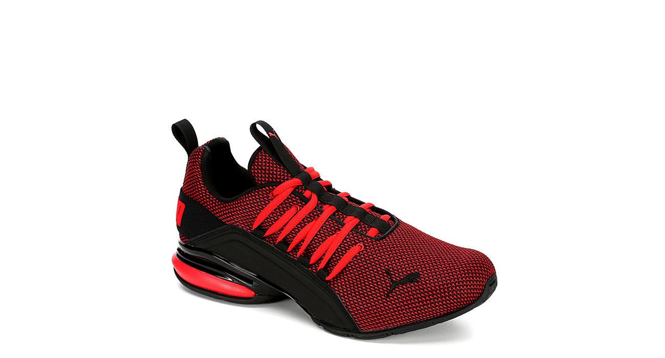 Puma Mens Axelion Sneaker - Red