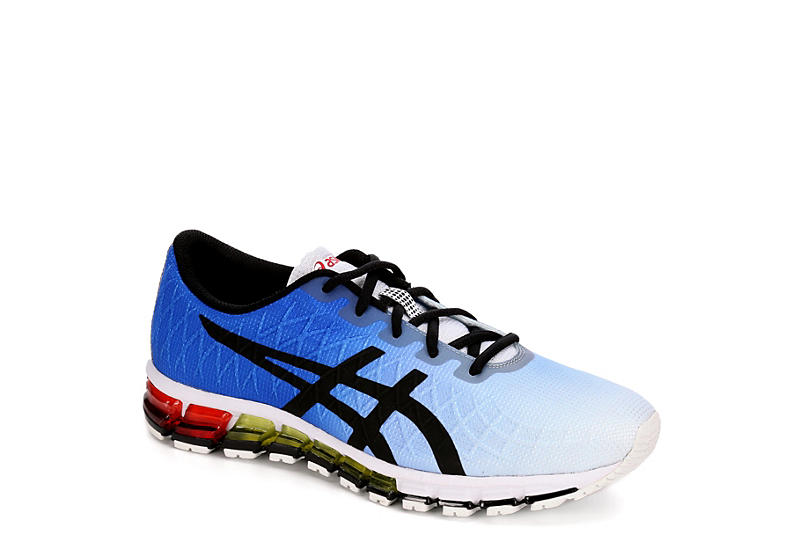 san francisco 60171 a2a8d WHITE ASICS Mens Gel Quantum 180 4