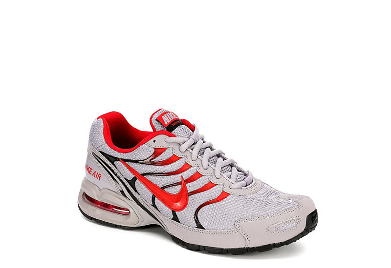 2d9b3d7a6229e Grey Red Nike Air Max Torch 4 Men s Running Shoes
