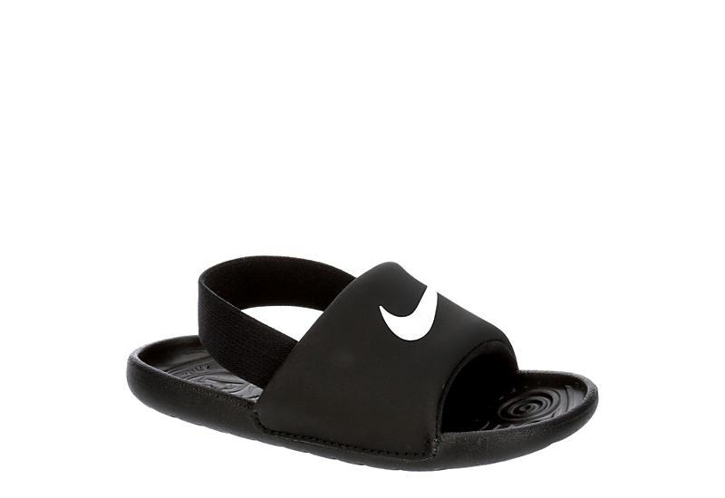 BLACK NIKE Boys Infant Kawa Slide Sandal