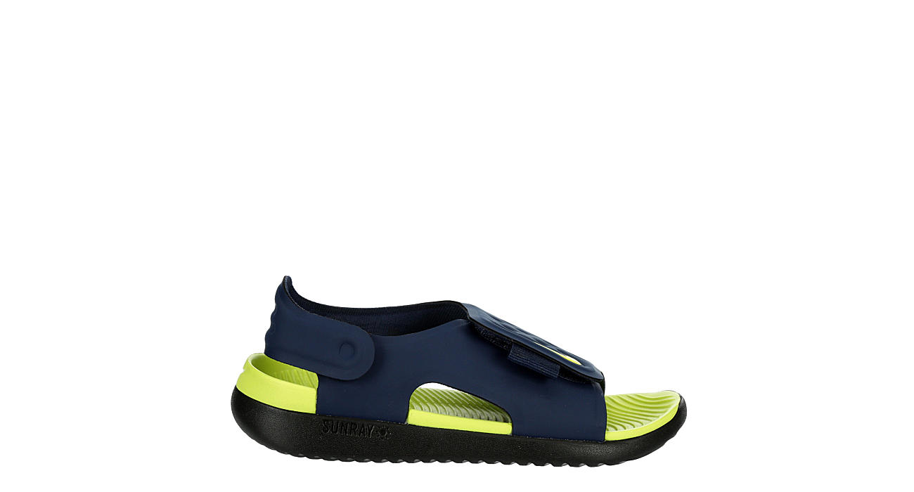 NIKE Boys Infant Sunray Adjust Outdoor Sandal - NAVY