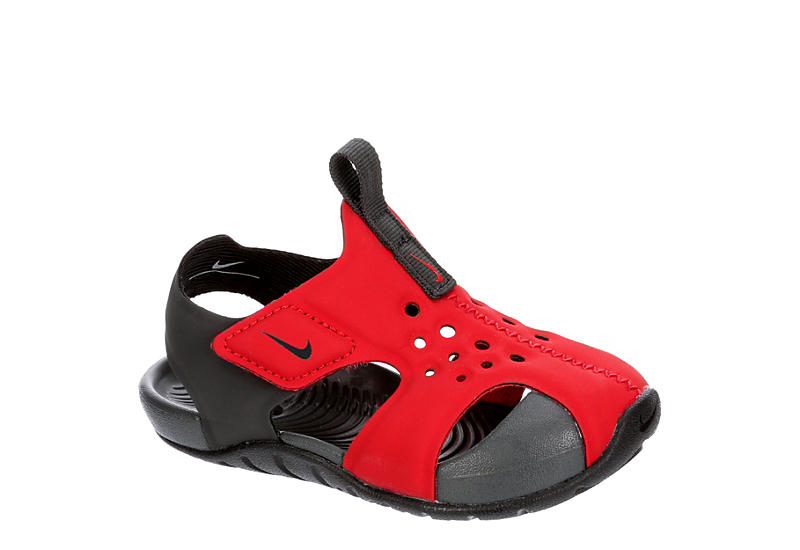 NIKE Boys Infant Sunray Protect 2 Outdoor Sandal - RED