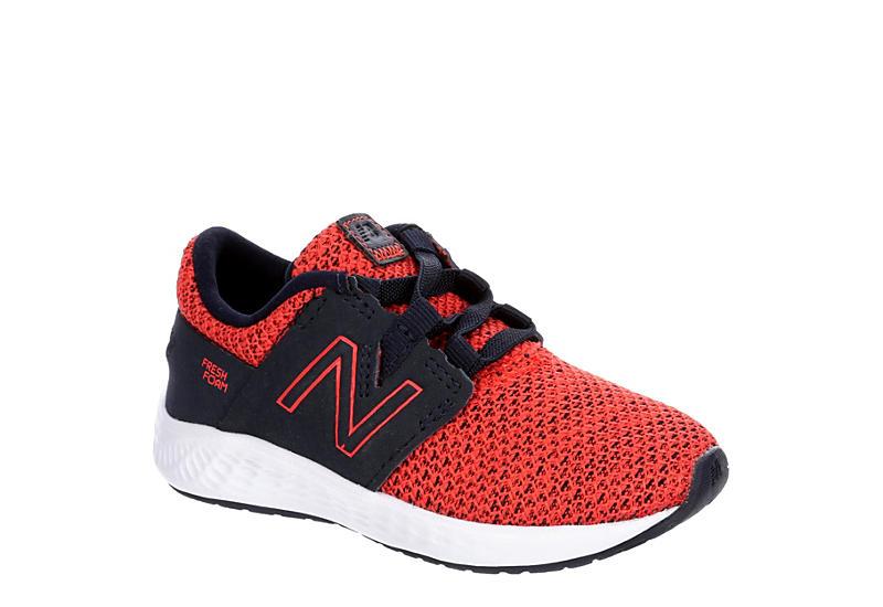 NEW BALANCE Boys Infant Vero Racer Sneaker - ORANGE