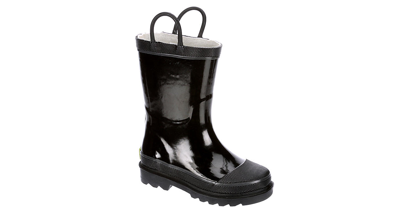 WESTERN CHIEF Boys Infant Firechief Rain Boot - BLACK