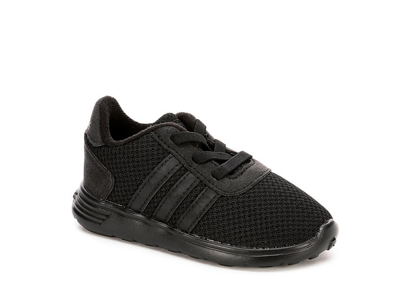 black adidas boys per cloudfoam lite racer atletico rack stanza