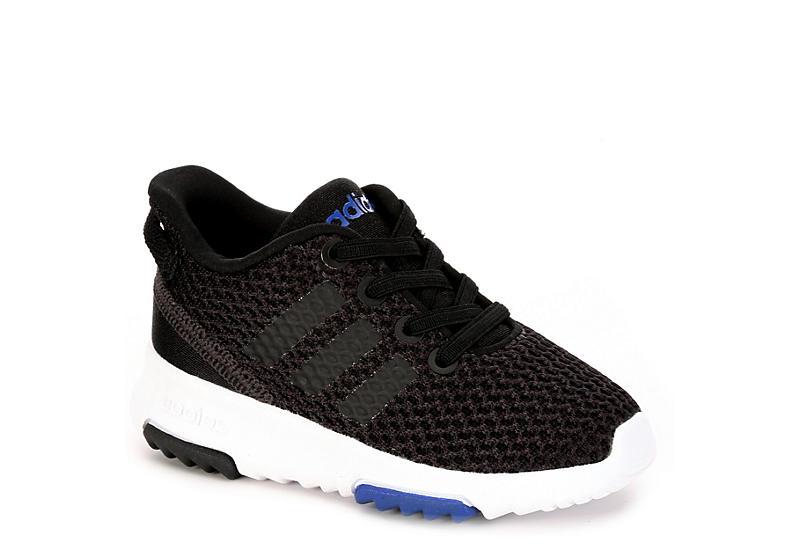 0c39d04d2bb6 Black Adidas Boys Racer Tr