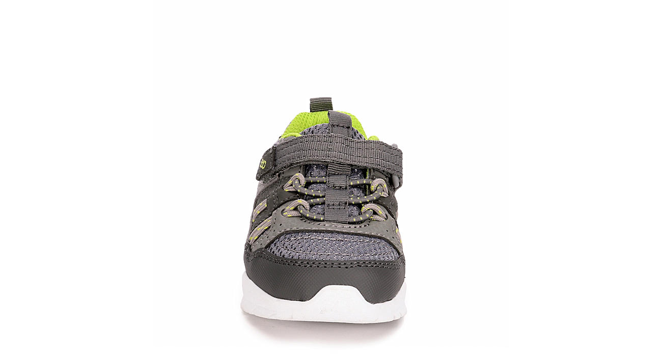 STRIDE RITE Boys Infant Dive Sneaker - GREY