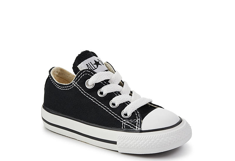 a803aa68af86 Black Converse All Star Infant Boy Sneakers