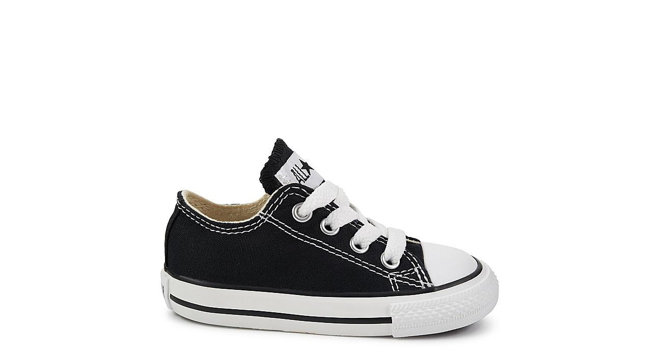 CONVERSE Boys Infant Chuck Taylor All Star Ox Sneaker - BLACK