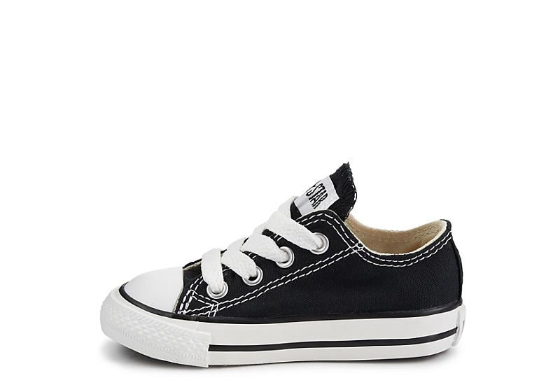 CONVERSE Boys Chuck Taylor All Star Ox - BLACK
