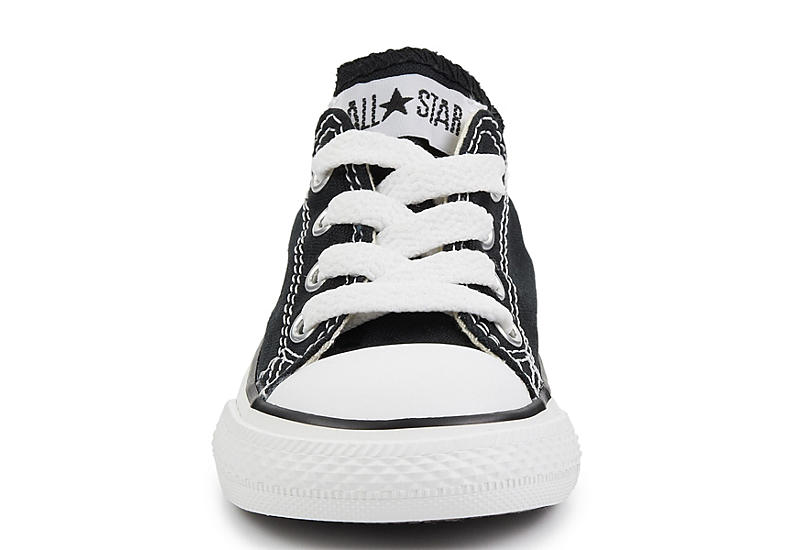 BLACK CONVERSE Boys Infant Chuck Taylor All Star Ox Sneaker