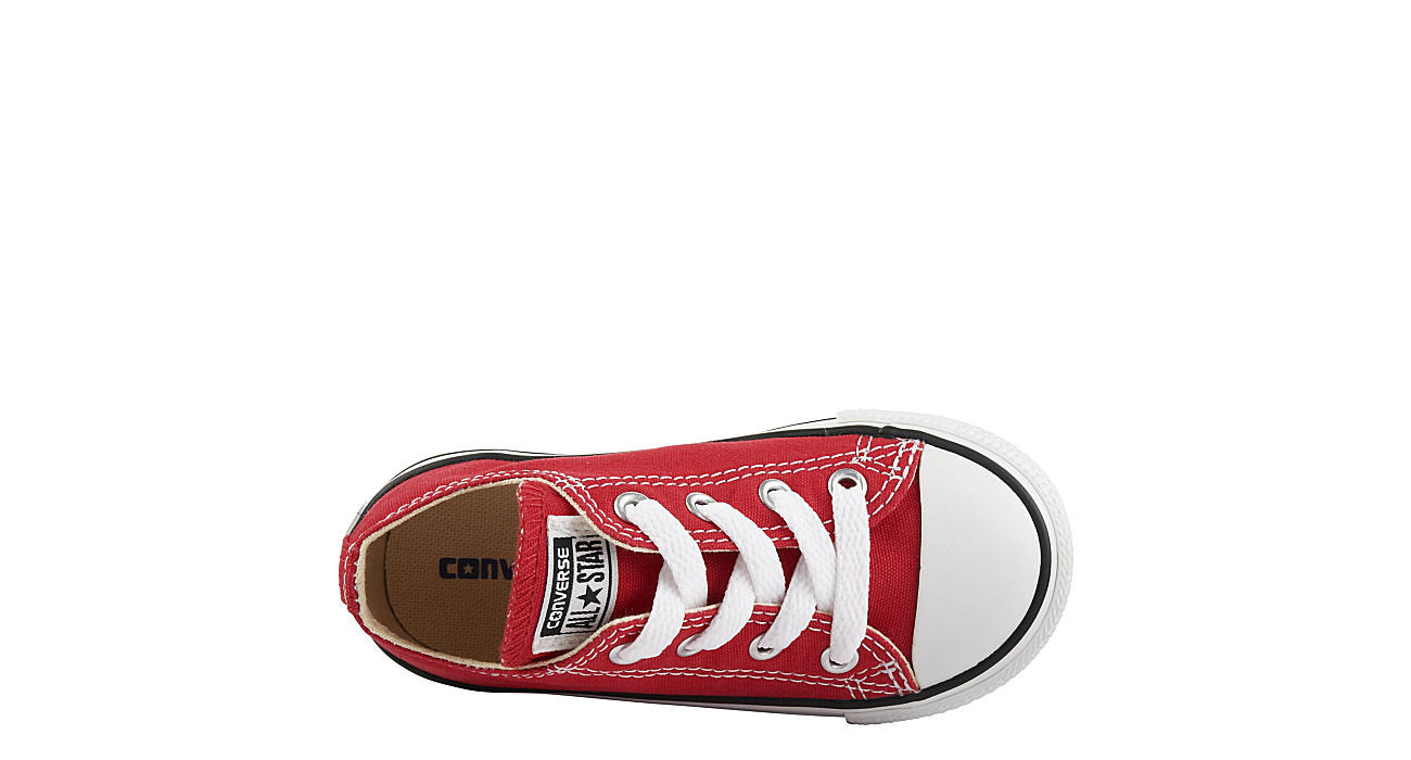 CONVERSE Boys Infant All Star Ox - RED