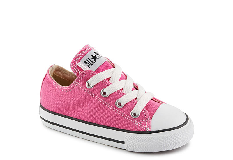4a3058631ef7 Pink Converse Girls Infant All Star Ox