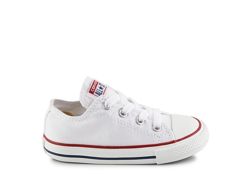 CONVERSE Boys Chuck Taylor All Star Ox - WHITE