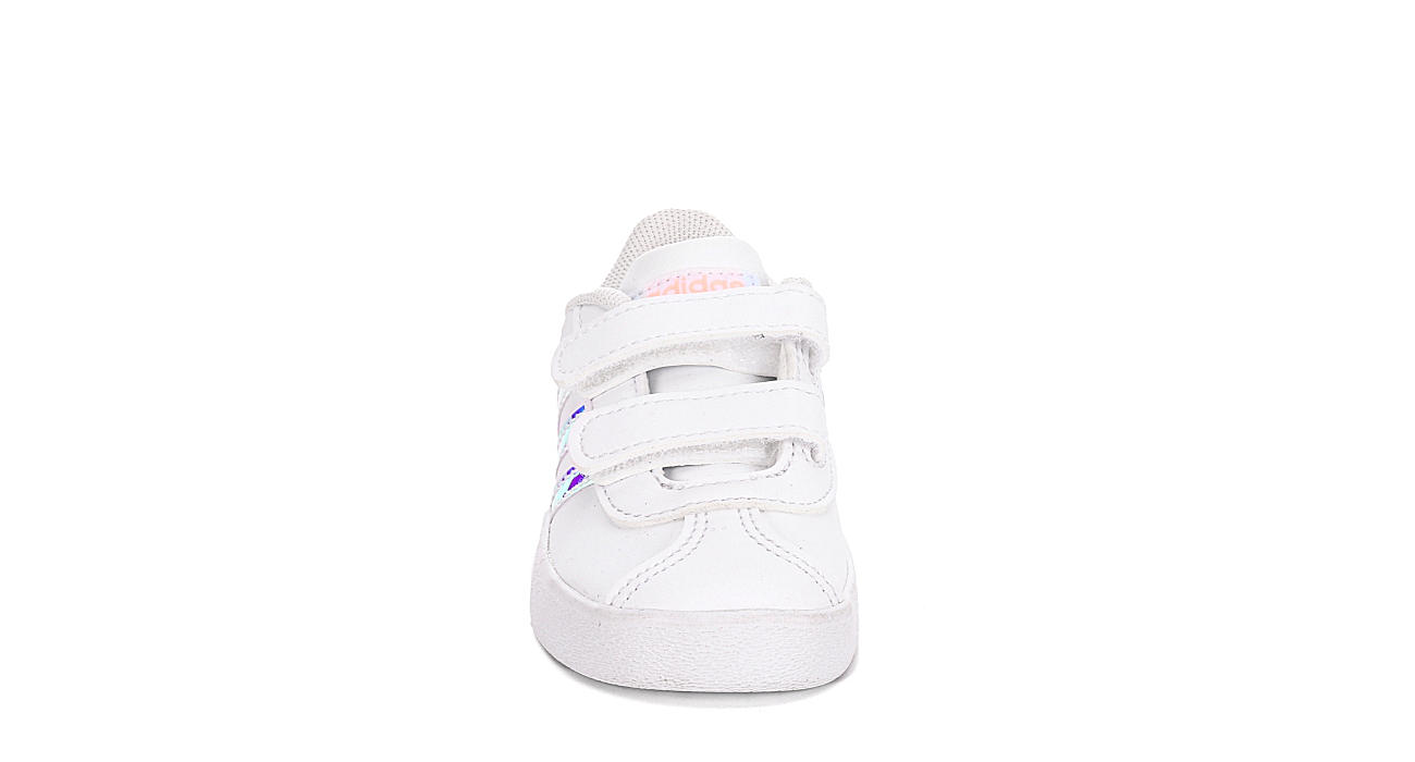 Adidas Girls Vl Court White