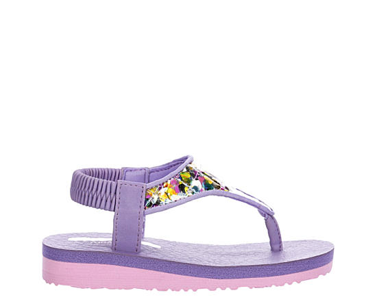 Girls Infant Meditation-confetti Cutie Flip Flop Sandal