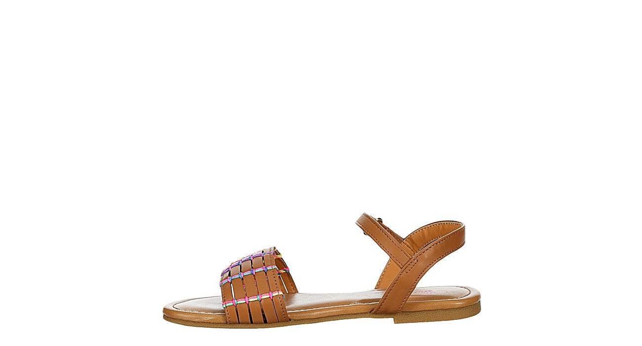 CUPCAKE COUTURE Girls Infant Lil Neon Sandal - COGNAC