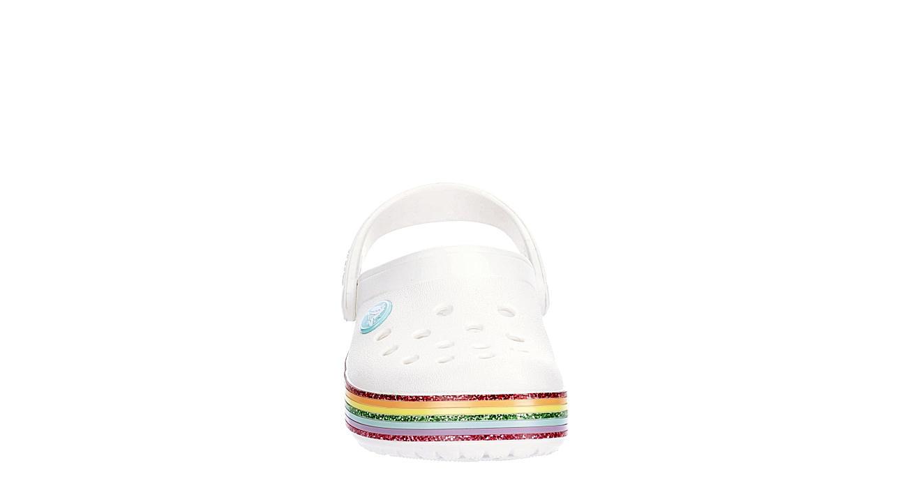 CROCS Girls Infant Classic Clog - WHITE