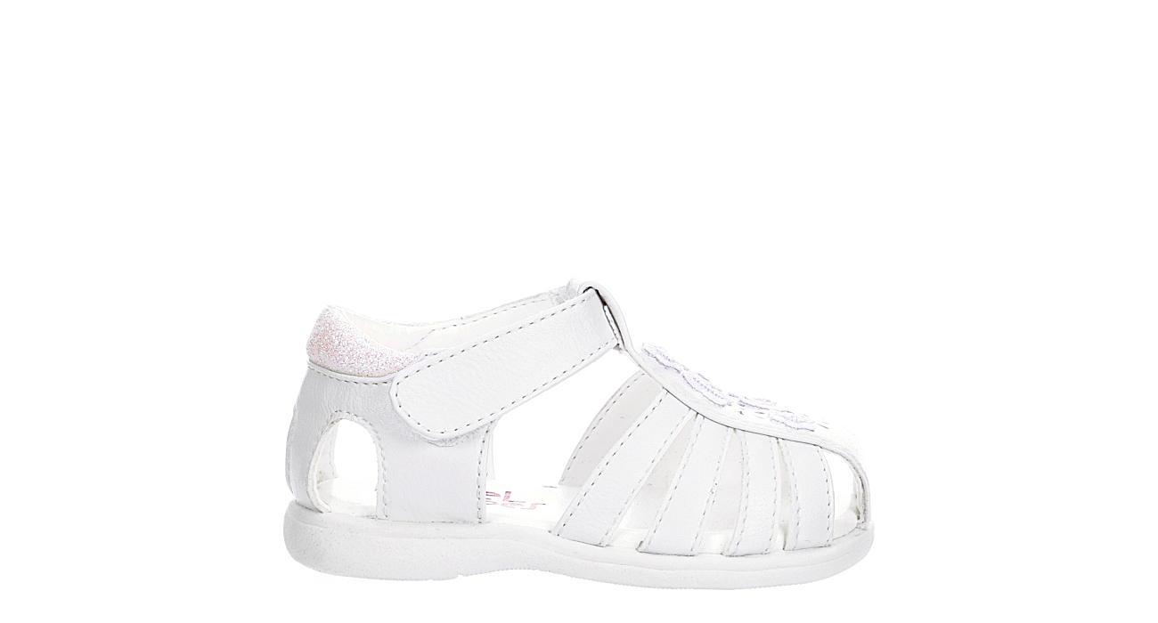 RACHEL SHOES Girls Infant Nina Sandal - WHITE