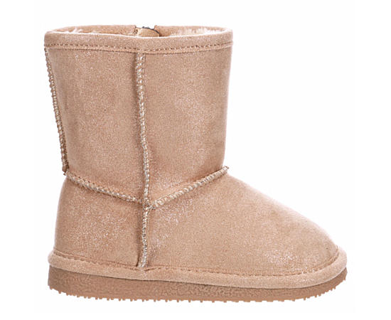 Girls Infant Lil Comfy Fur Boot