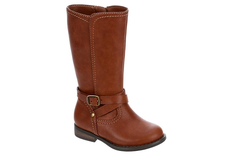 CUPCAKE COUTURE Girls Infant Lil Ridder Riding Boot - COGNAC