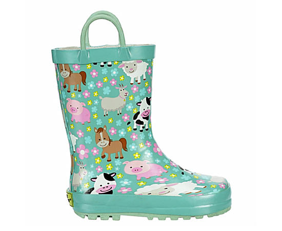 Girls Infant Farm Cutie Rain Boot