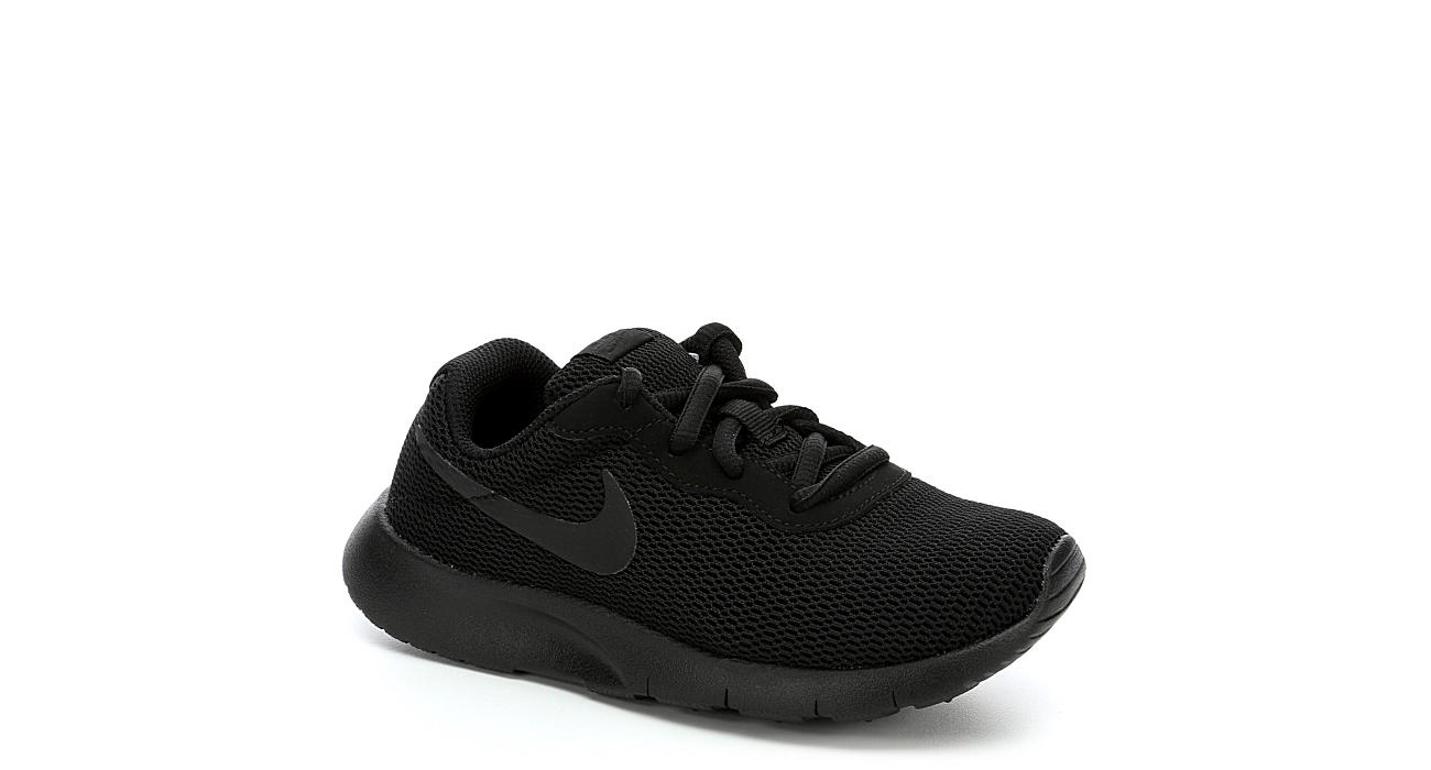 NIKE Boys Preschool Tanjun - BLACK
