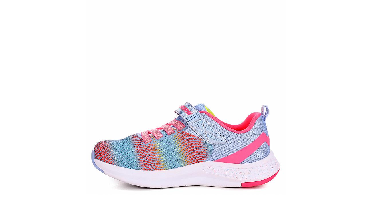 SKECHERS Girls Infant Trainer Lite 2.0 Sneaker - BLUE