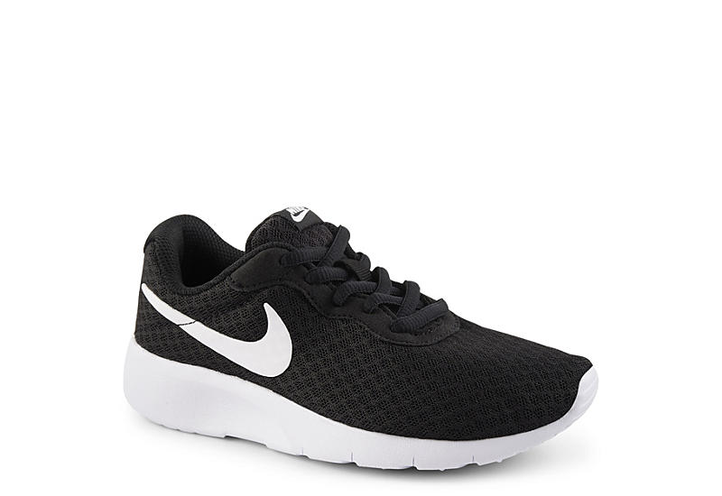BLACK NIKE Boys Tanjun