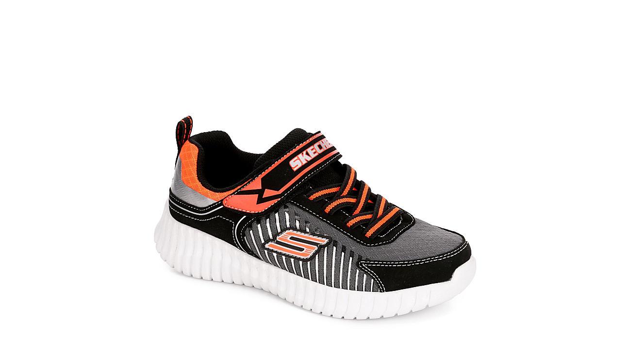 SKECHERS Boys Infant Elite Flex - Spectropulse Sneaker - BLACK
