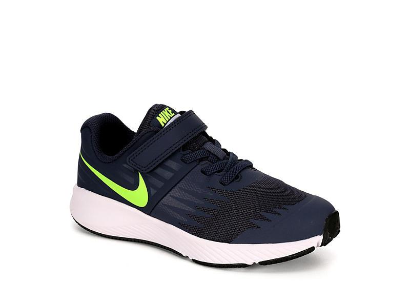 1cd9aea960e9 Dark Blue Nike Star Runner Preschool Boys Shoes