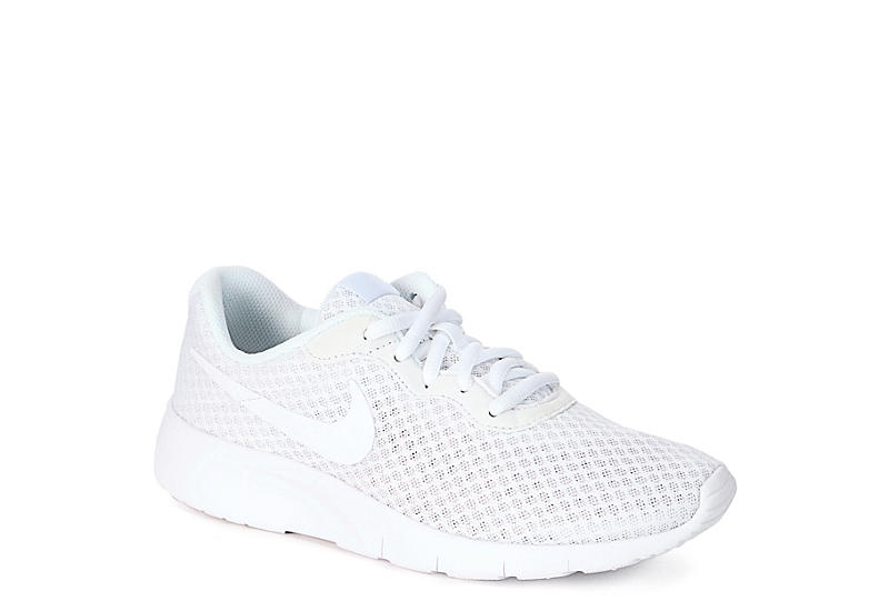 NIKE Girls Tanjun - WHITE