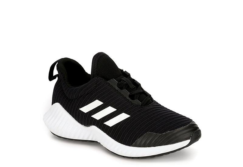 277eca90a104 Black Adidas Boys Fortarun