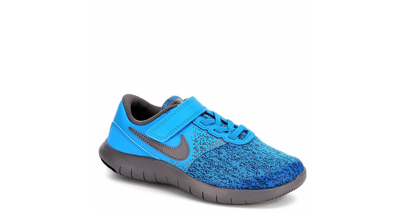 69bb3a0e99d10 Blue Nike Flex Contact Boys  Running Shoes