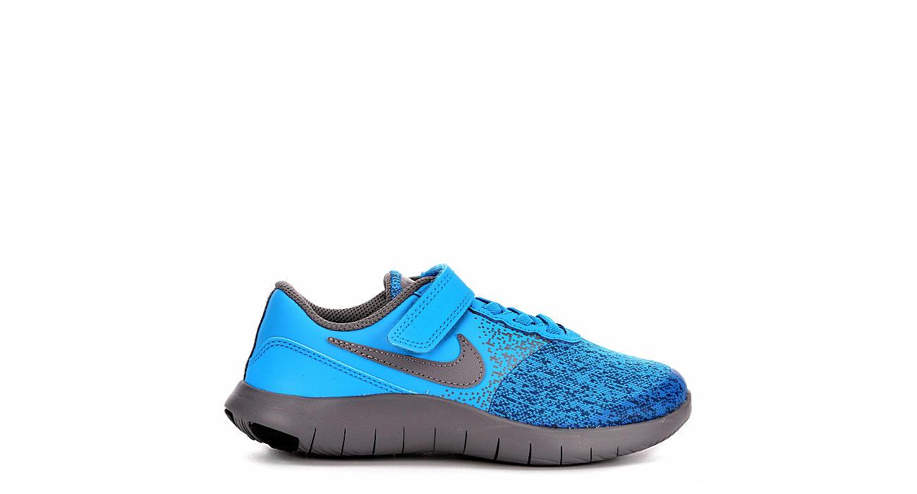 Blue Nike Flex Contact Boys  Running Shoes  e3606780032e