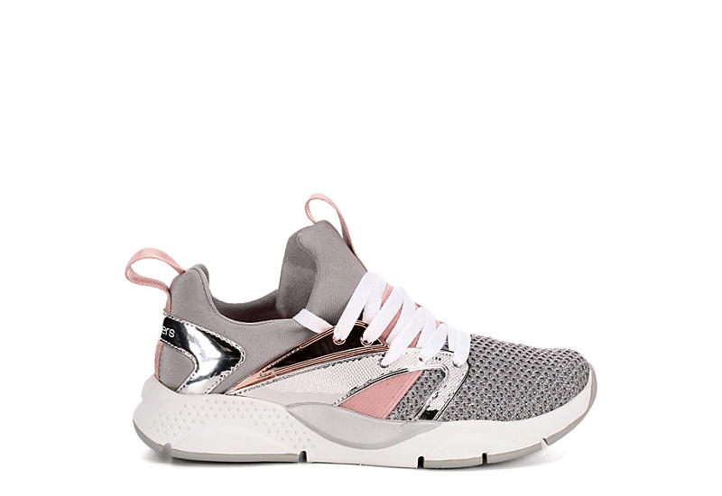 SKECHERS Girls Shine Status - SILVER