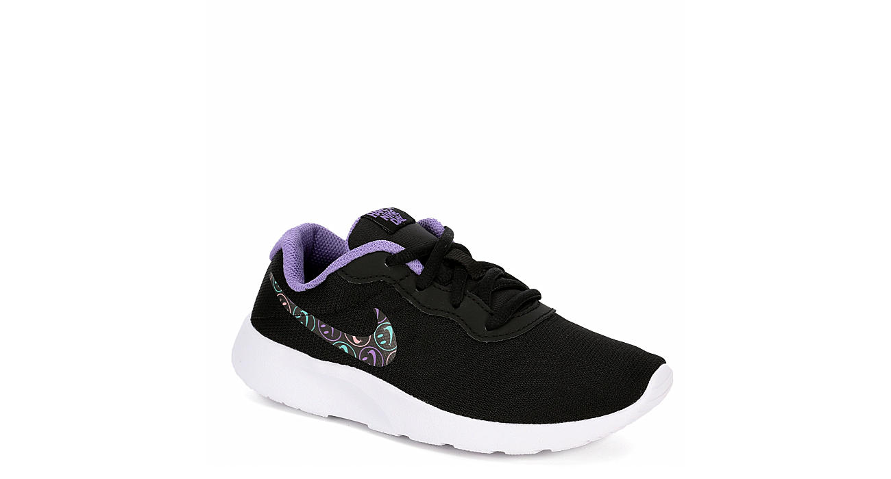 8f579974d2 Black Nike Girls Tanjun Ps | Athletic | Rack Room Shoes