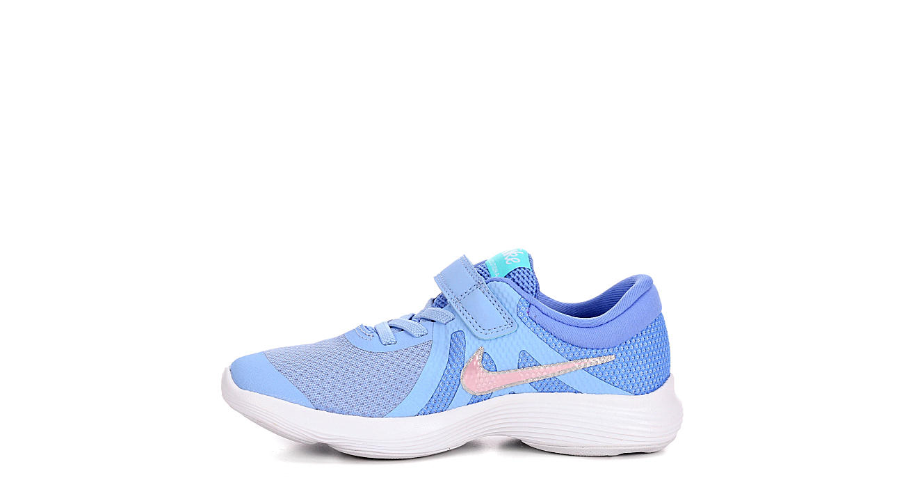 NIKE Girls Revolution 4 Ps - PALE BLUE