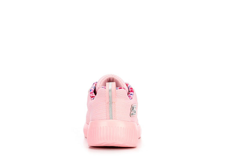 SKECHERS Girls Lil Bobs Bobs Squad - Glam League - PINK