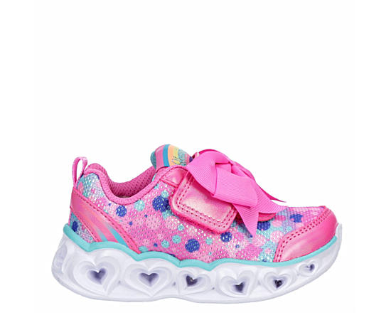 Girls Heart Lights - Sparkle Sparks Light Up Sneaker