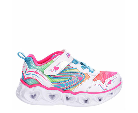 Girls Infant Heart Lites Love Spark Light Up Sneaker