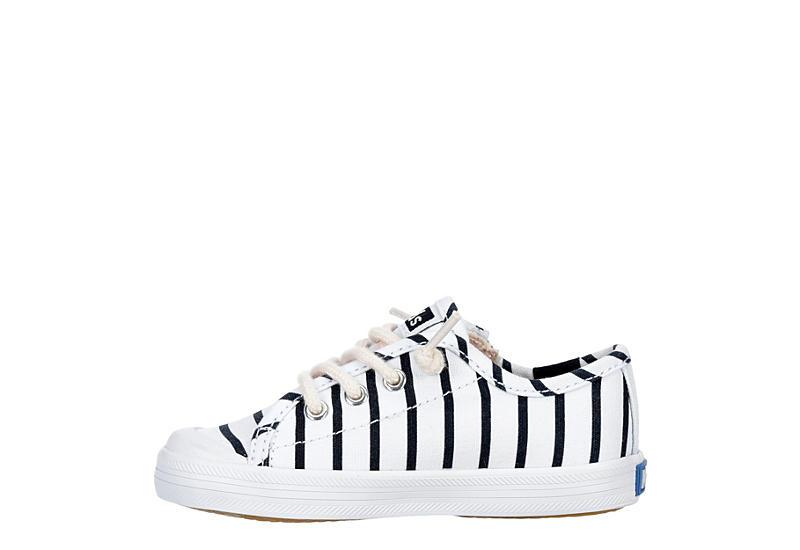 KEDS Girls Infant Kickstart Jr. Sneaker - WHITE