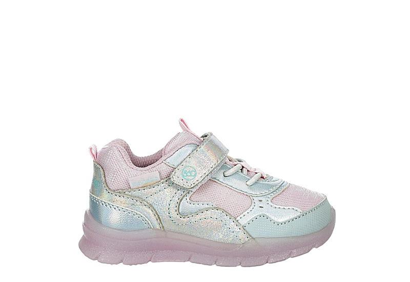 STRIDE RITE Girls Infant Marcel Light Up Sneaker - MULTICOLOR