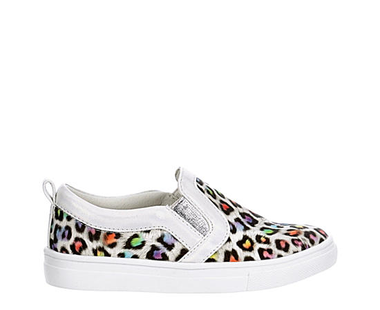 Girls Infant Lil Lf Leopard Slip On Sneaker
