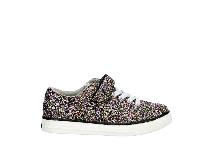 CUPCAKE COUTURE Girls Infant Lil Burkley Sneaker - SILVER