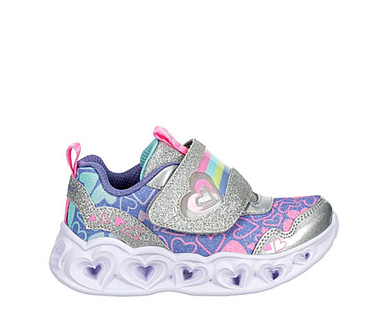 Girls Infant Heart Lights-lovie Dovie Light Up Sneaker